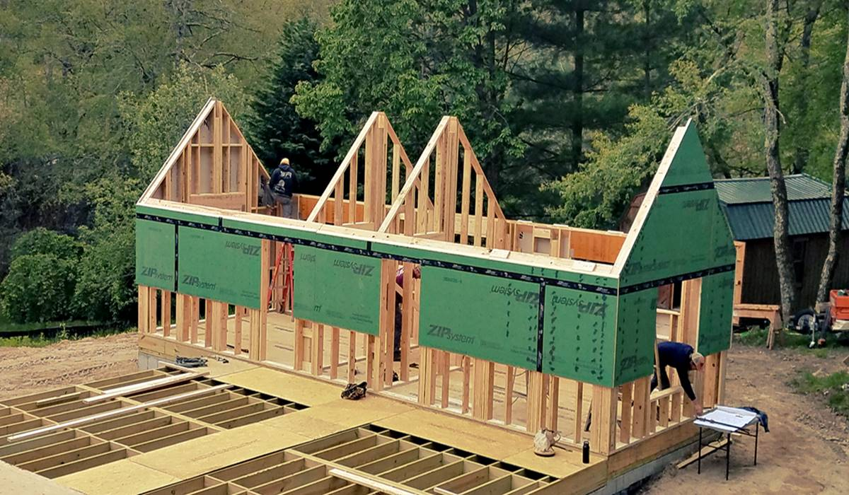 Panelized Home Builder Panelized Homes Energy Efficient Panelized Homes High Country Timberframe
